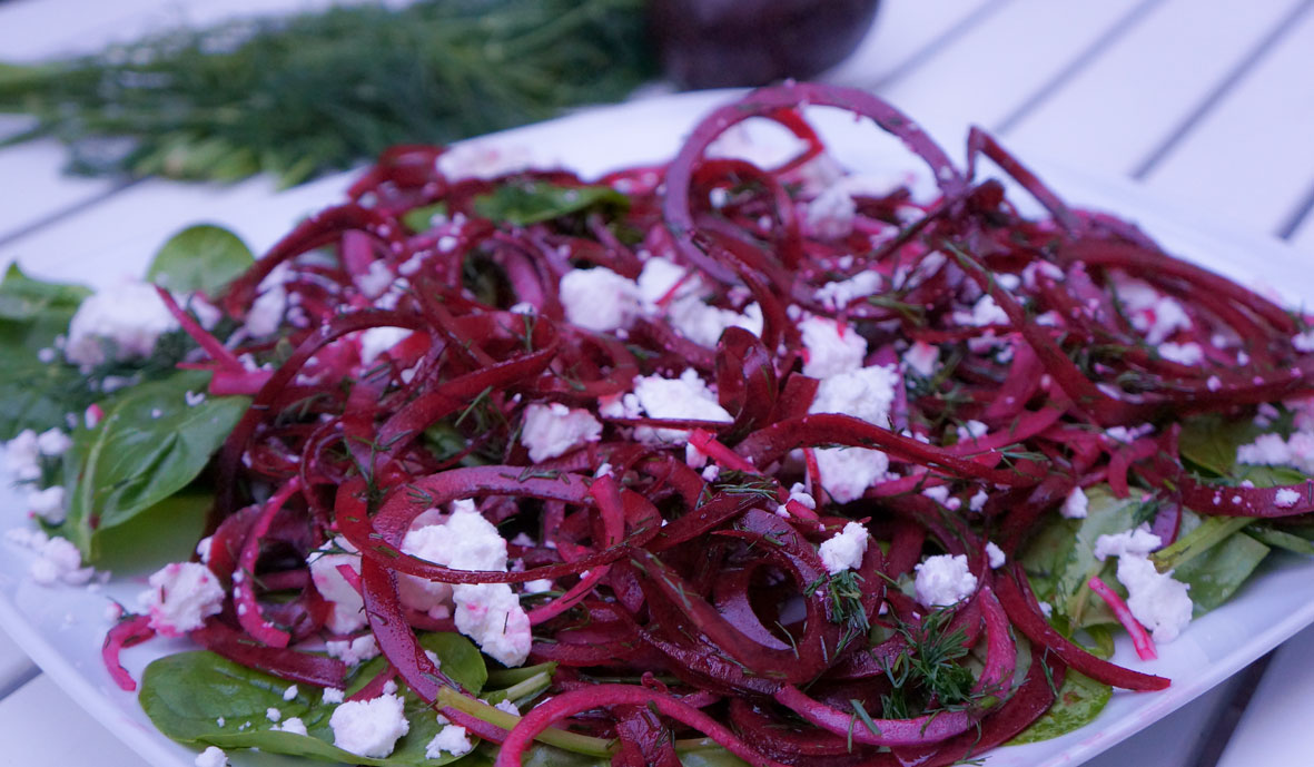Day 3 Beetroot dill salad
