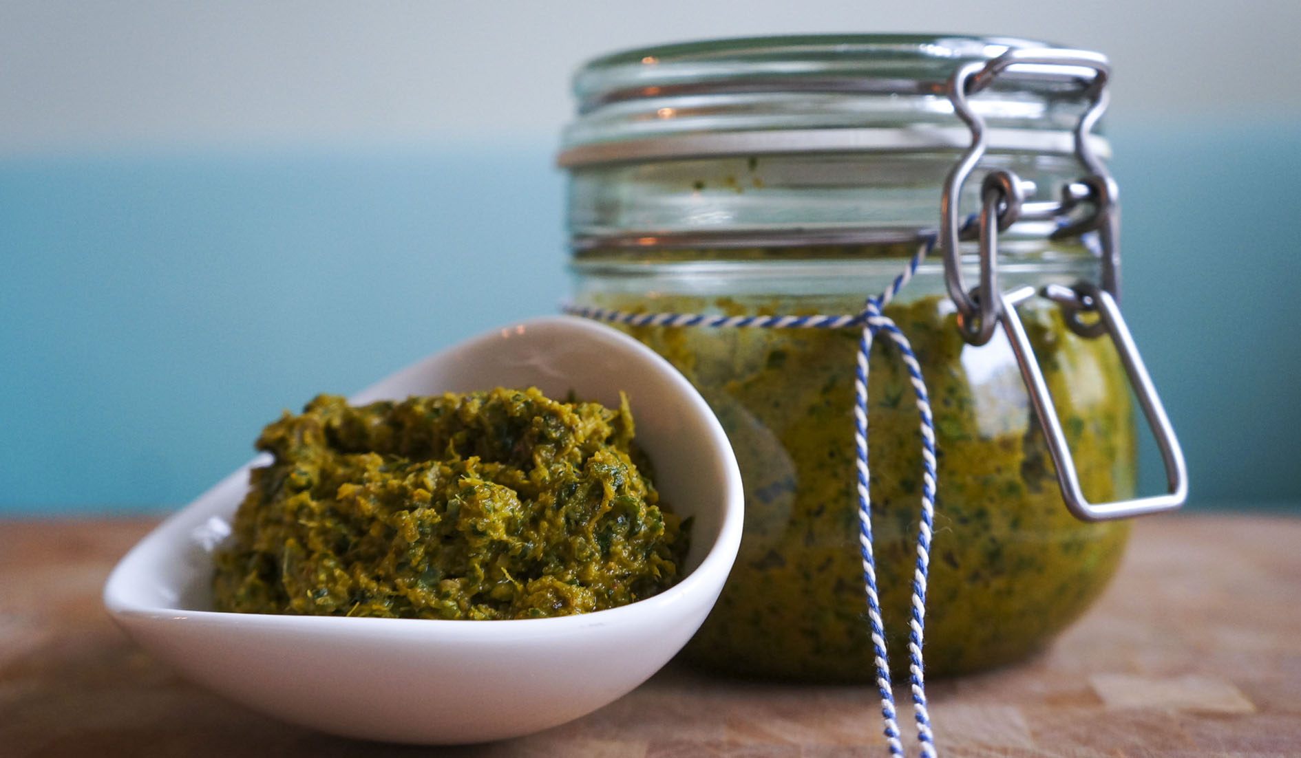 Home made Green Curry Paste