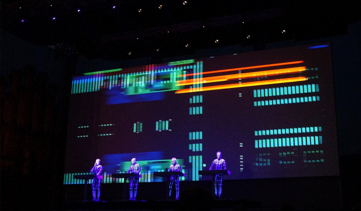 3D Kraftwerk concert in Poznan
