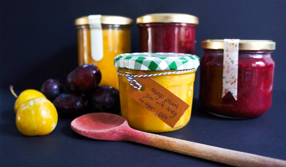 3 new plum jam recipes
