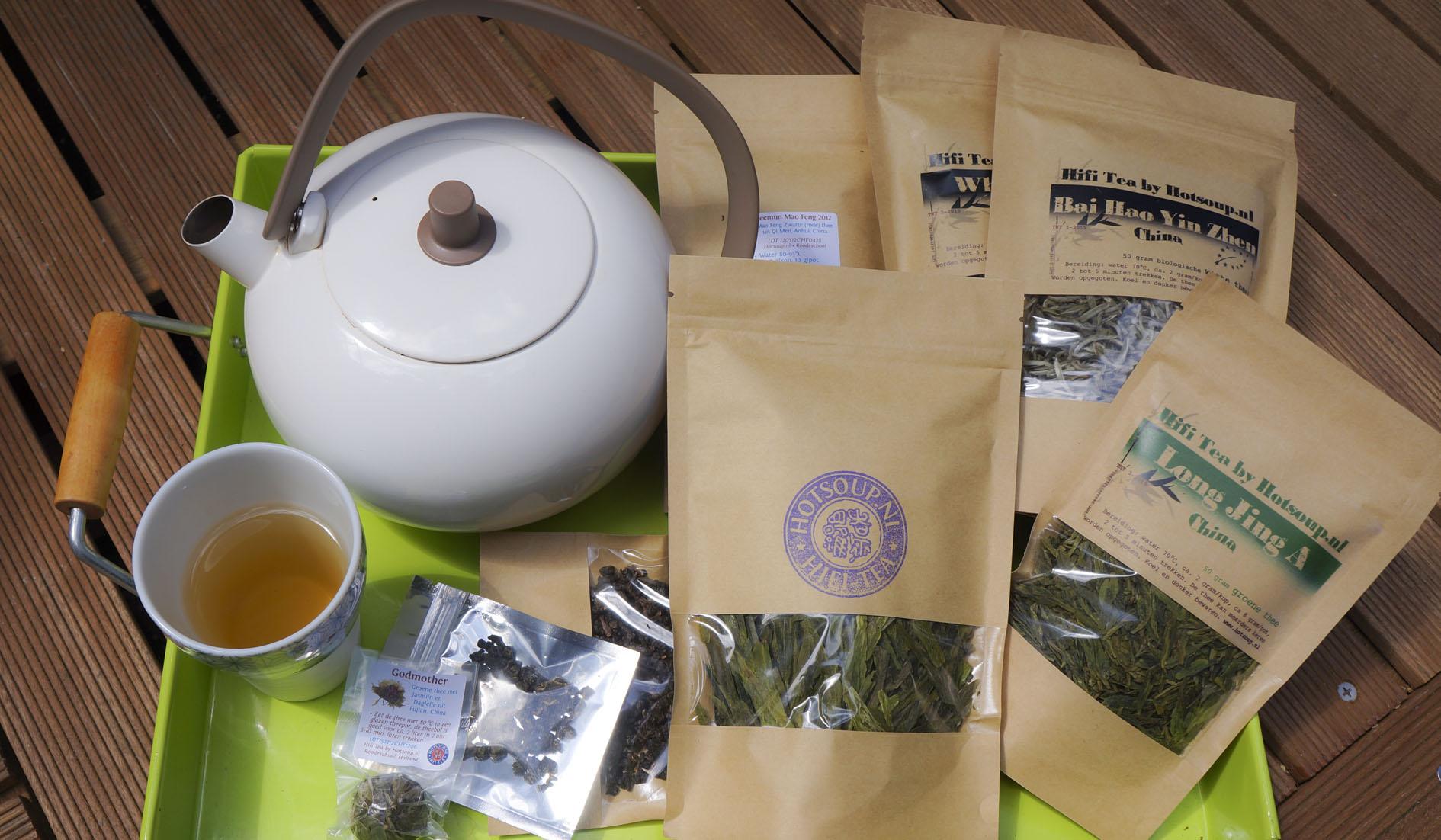 Tea order from Hotsoup
